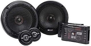 MB Quart PS1-216 Premium 2-Way Component Speaker System (Black, Pair) – 6.5 Inch Component Speaker System, 240 Watt, Car A... photo
