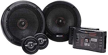 $179 » MB Quart PS1-216 Premium 2-Way Component Speaker System (Black, Pair) – 6.5 Inch Component Speaker System, 240 Watt, Car A...