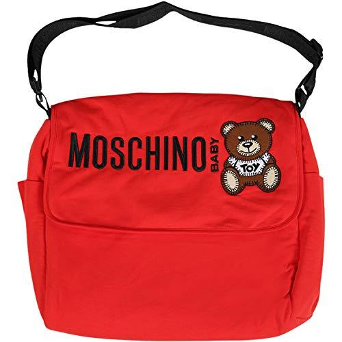 Moschino Kinder-Tragetaschen für Neugeborene, Rot, Mqx036 LDA16