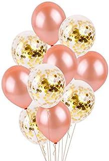بالون ذهبي ذهبي وردي بالون بالون ذهبي للحفلات