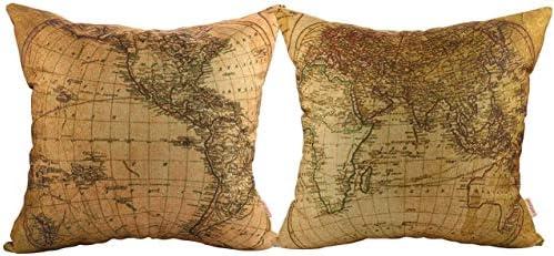 Top 10 Best map pillow Reviews