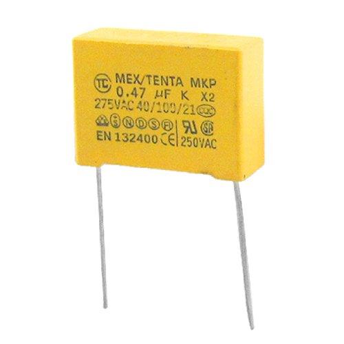 sourcing map AC 275V 10% 0,47uF Condensadores de seguridad sumergibles MKP X2 10 pcs