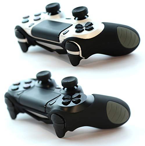 2 X Paxo silicone custodia/cassa nero per PS4 controller