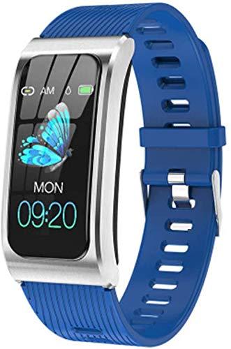Reloj de pulsera inteligente con monitor de ritmo cardíaco y monitor de sueño, presión arterial, rastreador de actividad física Smartband N Classic-B