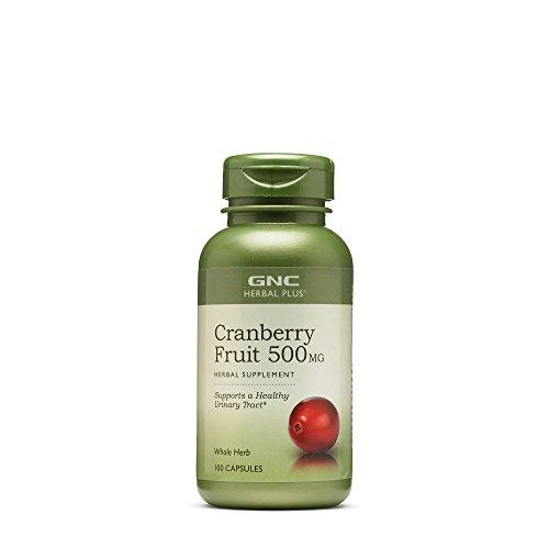 GNC Herbal Plus Cranberry Fruit 500MG