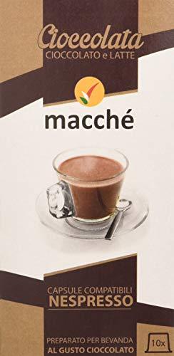 Macché Capsule Nespresso Cioccolata Solubile - 5 confezioni da 10 capsule