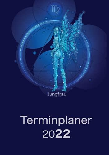 Terminplaner 2022 - Sternzeichen Jungfrau