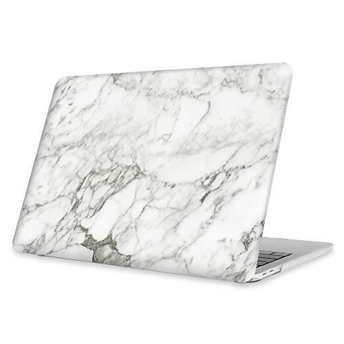 FINTIE Rigida Custodia Compatibile con MacBook PRO 13 con/Senza Touch Bar 2019/2018/2017/2016 (A2159/A1989/A1706/A1708) - Ultra Sottile Plastica Case Cover Copertina, Marble