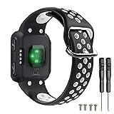 T-BLUER Watch Band Compatible for Garmin Forerunner 35 Cinturino,Accessorio per Bracciale in Silicone...