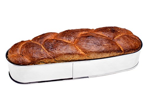 CHG 3365-00 Kuchen-/Brotbackring, oval, b=11,0 cm, h = 7,0 cm