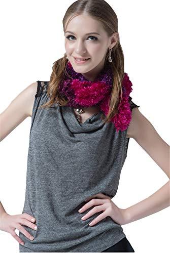 TaoRan sjaal dames herfst en winter breien warm gestreepte sjaal casual mode sjaal