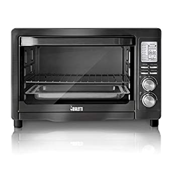 Bialetti  35047  6-Slice Convection Toaster Oven Black Stainless Steel