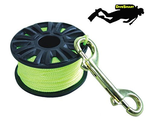 Wreck Scuba Diving Guide Line Tech Spool Choice of Color /& Size CUTICATE Dive Finger Reel Attached with Stainless Steel Snap Bolt Clip and Line
