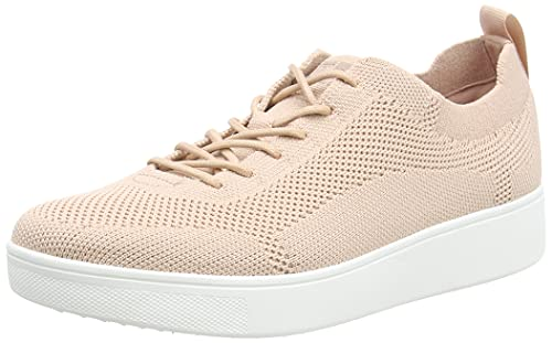 Fitflop Damen Rally Tonal Knit Sneakers Sneaker, Blush, 43 EU