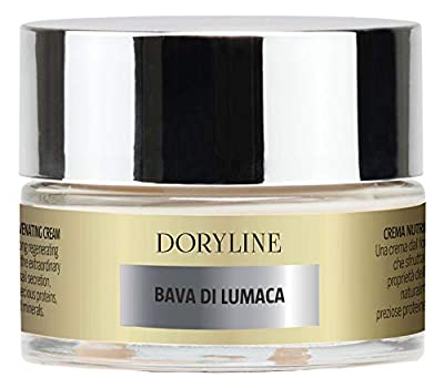 DORYLINE 50ml PROFESSIONAL Snail Slime Face Cream, Exceptional Anti Wrinkle 100% Made in Italy, Nourishing and Moisturizing Cream for Face Neck Decoltè, Excellent against Acne and Spots on the Skin from Doryline