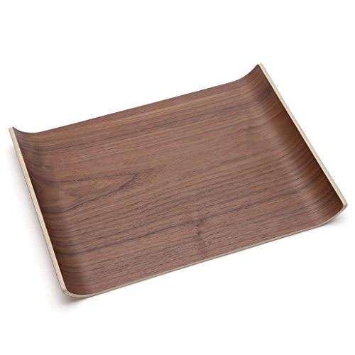 CJH Planken groot dienblad Water Cup Tea Tray Simple End schotel plaat Brood fruitschaal rechthoekige houten plaat