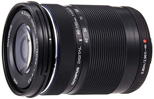 Olympus M.Zuiko Digital ED 40-150mm F4‑5.6 Objektiv, Telezoom, geeignet für alle MFT-Kameras (Olympus OM-D & PEN Modelle, Panasonic G-Serie), schwarz