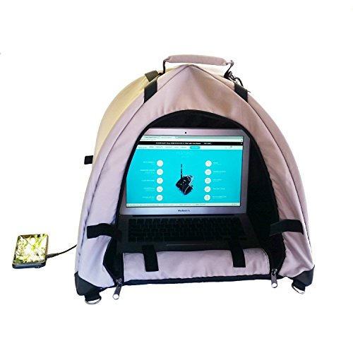 LapDome - Portable Sun Shade & Weather Protecting Carrying Case for Laptop/Tablet/Cell Phone.