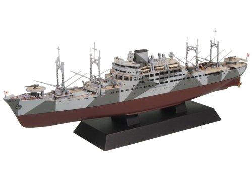 ピットロード 1/700 日本海軍 特設巡洋艦 愛国丸1941 開戦時 W134