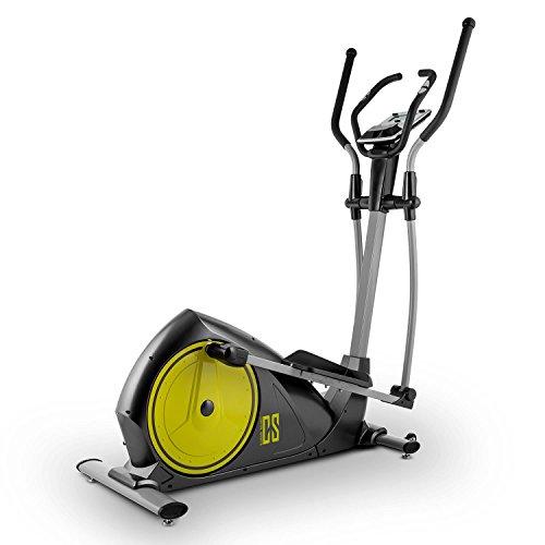 Capital Sports Cross-1 Crosstrainer Ellittica Ergometro con Bluetooth Verde