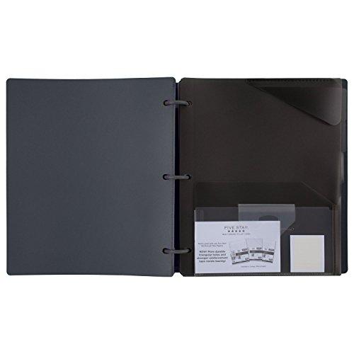 Five Star Flex Hybrid NoteBinder, 1 Inch Binder with Tabs, Notebook and 3 Ring Binder All-in-One, Geo (29148BQ7) Photo #5