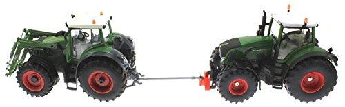 Abschleppstange für Siku und Control 32 Traktoren (Silber)