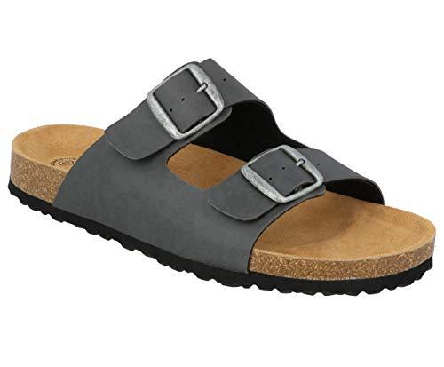 Lico Bioline - Zapatillas de estar por casa para hombre, color Gris, talla 44 EU