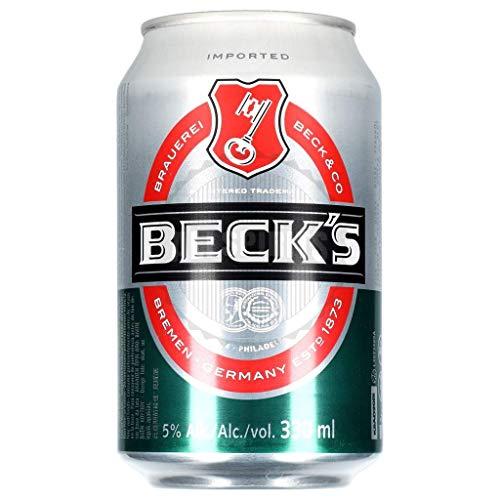 24 x Becks Blue Alkoholfrei 0,33 L Originalkiste <0,5% vol,alc. MEHRWEG
