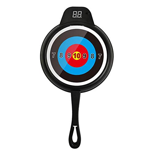 sharprepublic Single Electric Scoring Auto Reset Shooting Digital Target Mat for Kids Play, Plastic