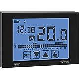 Cronotermostato da parete VE454500 Vemer Chronos 230 Nero settimanale Touch Screen 230V Vemer