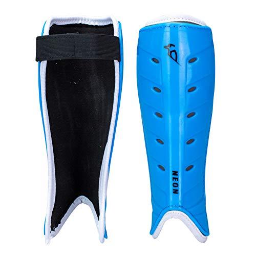 KOOKABURRA Unisex, Jugendliche Neon Hockey-Schienbeinschoner, blau, XS