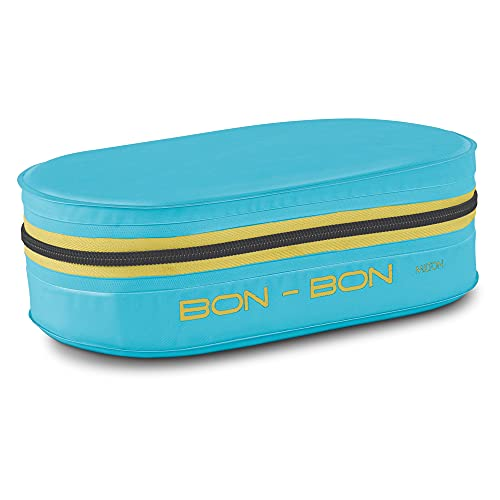 Milton New Bon Bon Lunch Box with 2 Leak-Proof containers, 280 ml Each, Cyan