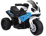 fit4form Kinder Elektro Motorrad Kindermotorrad Elektromotorrad Trike S1000RR 6V blau elektrisch
