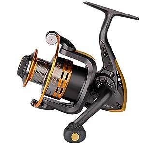 Goture Spinning Fishing Reel Metal Spool 6bb for Freshwater Saltwater 500 1000 2000 3000 4000 5000 6000 Series (4000 Series)