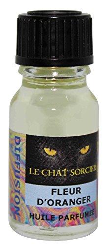 Le Chat Sorcier - Huile Parfumée - Fleur d'Oranger (10ml)