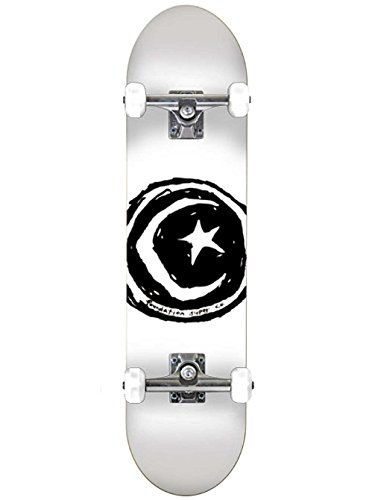 Unbekannt Skateboard Complete Deck Foundation Star & Moon 8.5'' Complete