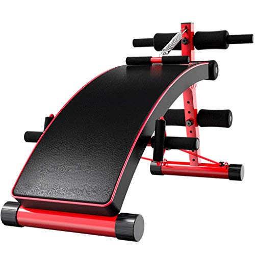 qazxsw Adjustable Benches Fitness Equipment Men and Women Slimming Exerciser Weight Loss Push-up Bench Indoor Fitness Machine