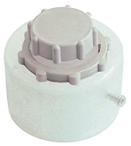 Zoutreservoir voor vaatwasser ø 123 mm hoogte 90 mm zonder afdichting