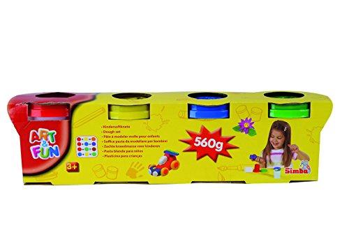 Simba 106320642 - Art & Fun Softknete 4x140g