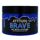 Attitude Haarfarbe - Vegan Semi Permanent Hair Color - Haartönung mit Conditioner - Farbe Brave...