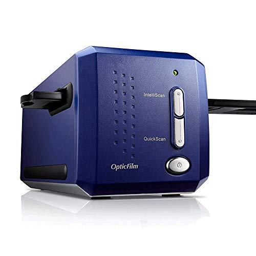 QCHEA OpticFilm 35 mm de película Negativa/escáner de Diapositivas con 7200 dpi y la Salida de 48 bits, Bulto SilverFast SE Plus 8.8, Compatible con Mac y Windows
