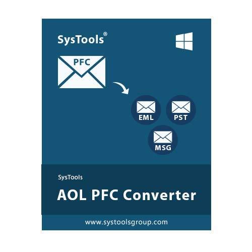 SysTools Convertisseur AOL PFC (Livraison par courrier électronique - pas de CD)