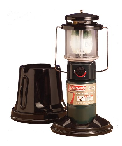 OUR PICK FOR EASIEST TO TRANSPORT: Coleman QuickPack Deluxe Propane Lantern