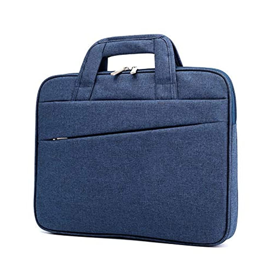 Laptop Bag,mac pro/air Travel Briefcase w/Organizer,Business for Men & Women,Fits 13,14,15.6 Inch Laptop,Notebook Computer Tablet MacBook,Acer,HP,Dell,Lenovo,Samsung,chromebook,[Blue]