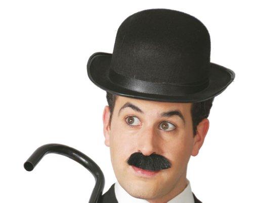 GUIRMA - Sombrero fieltro bombin negro