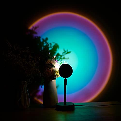 Sunset Rainbow Projector Lamp