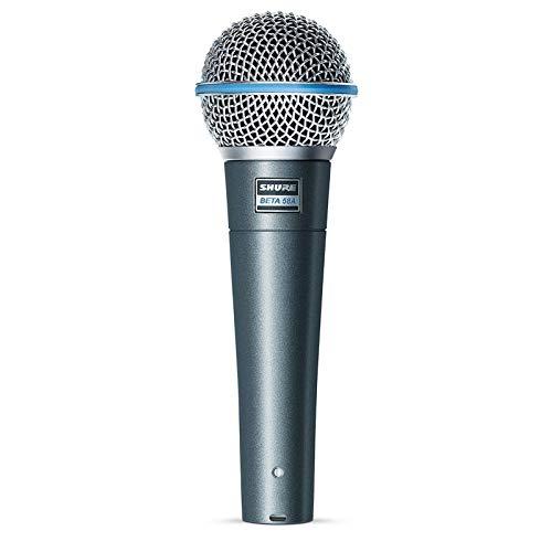 SHURE Beta 58A - Micrófono, Etapa/rendimiento, -51 Db, 50 - 16000 Hz, Gris