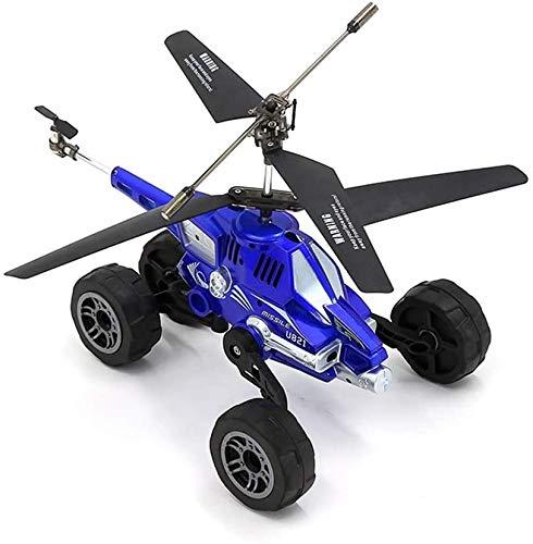 Darenbp RC Aereo Elicottero Proiettile Model Car Remote Control Car Ricaricabile Fighter Drone Automobile di accelerazione Giocattolo Aereo Tre in Uno dei velivoli Giocattoli for Bambini Boy Girl Toy