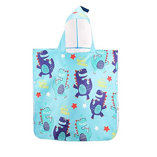Toalla de baño Toallas con capucha para bebés premium - Albornoz ultra absorbente - grueso 27.5 'x27.5' - Toalla de algodón suave con capucha - Accesorios de baño Conjunto de regalo para niños y toall