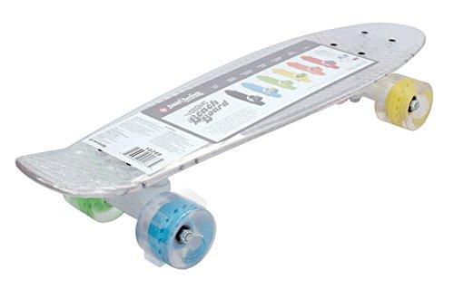 Streetsurfing Street Surfing Skateboard Beach Board-Clear transparent, 56 cm
